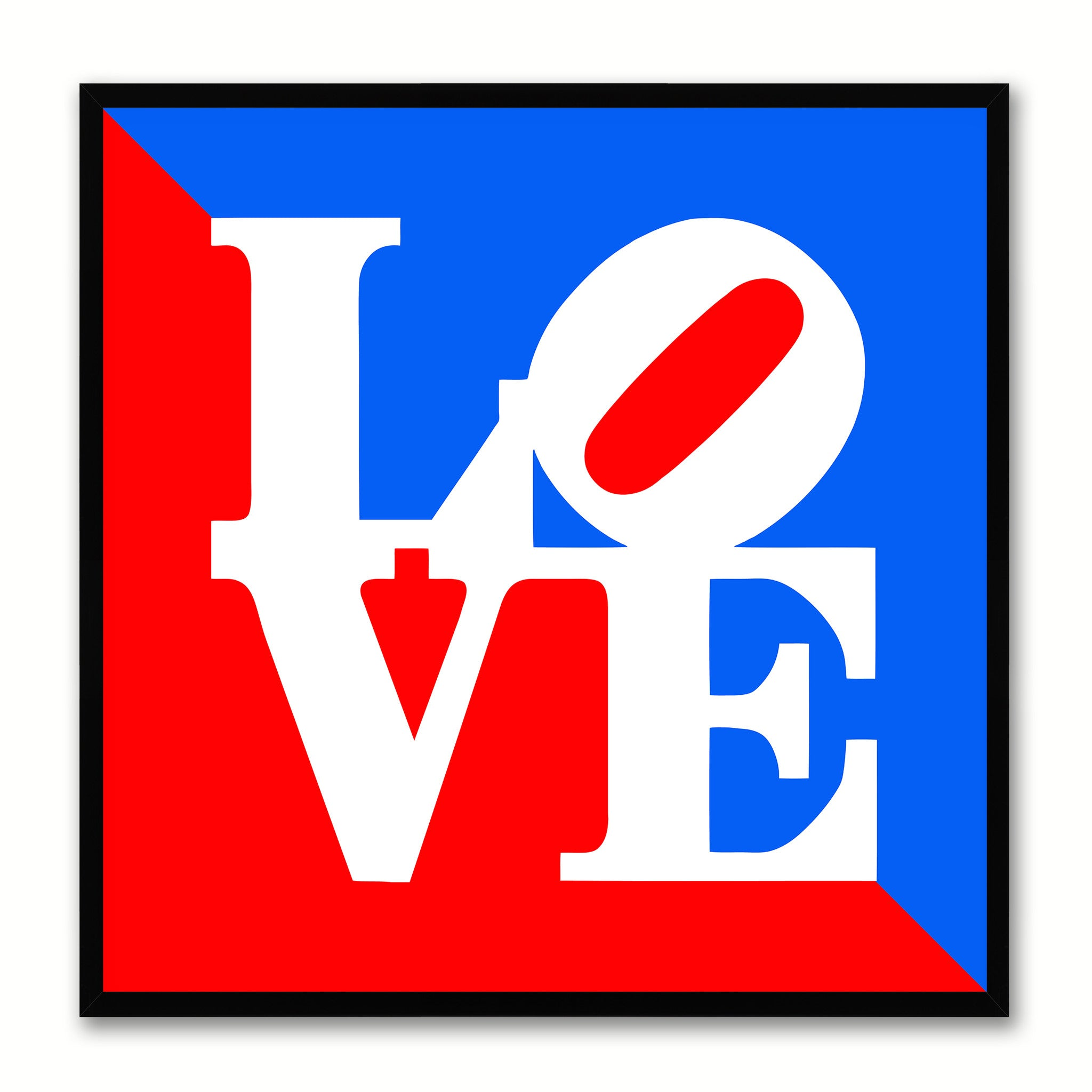 Love Statue Sign Home Decor Gift Ideas Wall Decoration Frames