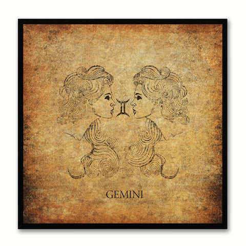Aries Horoscope Astrology Canvas Print, Picture Frame Home Decor Wall Art Gift