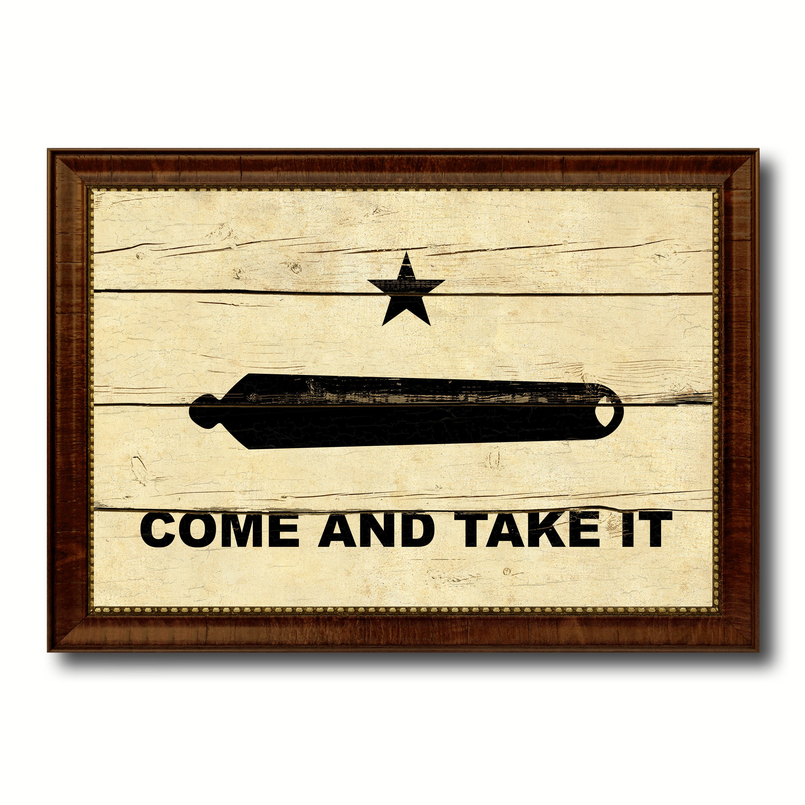 Revolution Come and Take It Military Vintage Flag Patriotic office ...