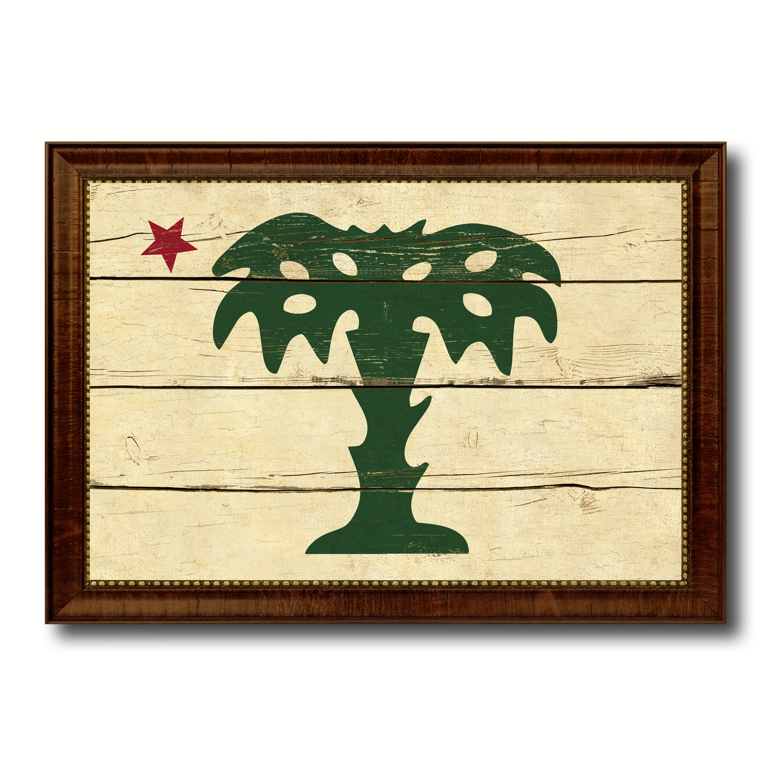 South Carolina Palmetto Guard Military Vintage Flag Patriotic office ...