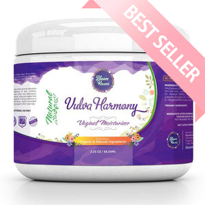 Vulva Harmony Natural Vaginal Moisturizer Cream by Bloom Krans