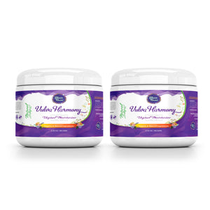 V. Harmony (2 Pack) - Vaginal Moisturizer - Organic & Natural - Intimate Skin Cream