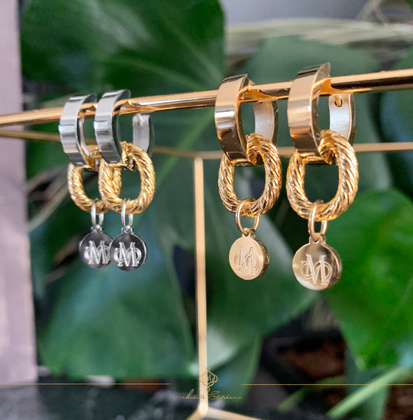 VERON GOLD EARRINGS