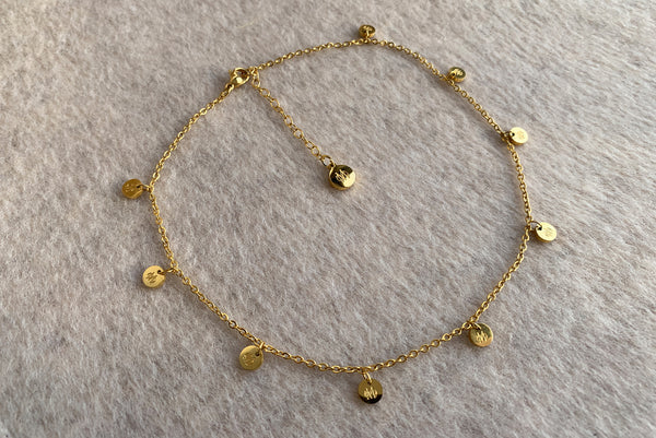 SIGNATURE GOLD STAINLESS STEEL NECKLACE