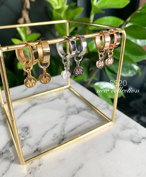 SIGNATURE ROSE GOLD EARRINGS