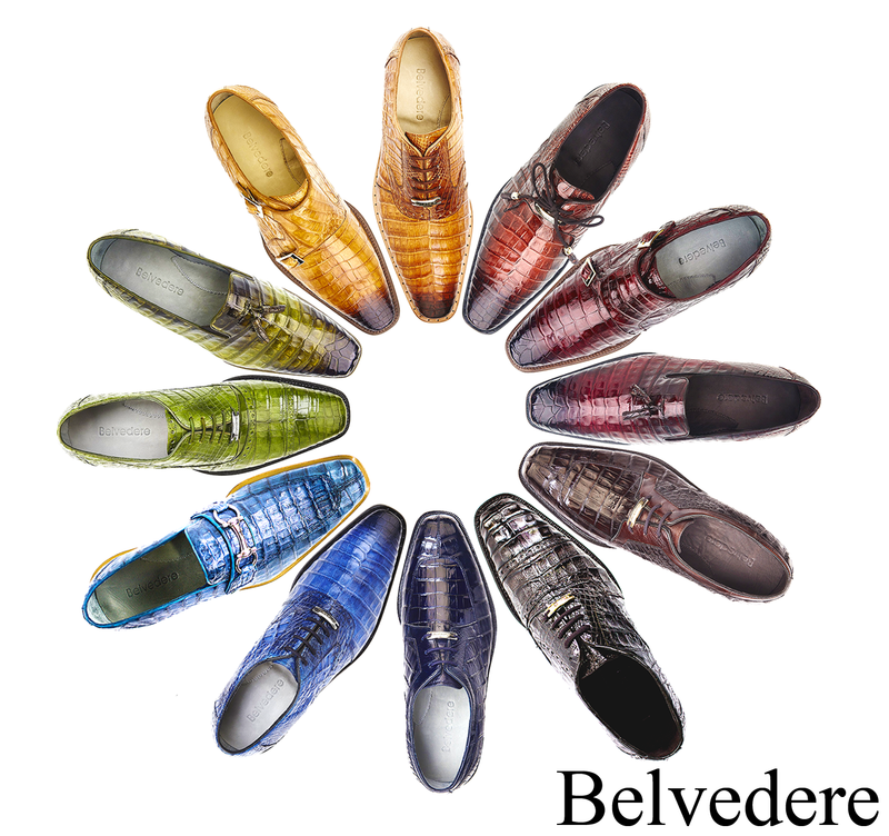 Belvedere Genuine Exotic Shoes