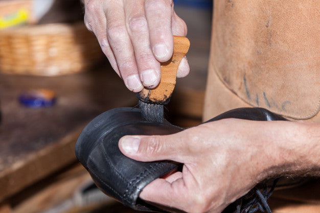 Shoe Care 101: Polishing shoes
