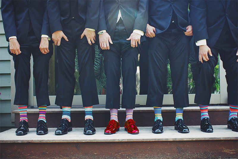 When Are the Best Times for Men to Wear Brightly Colored Shoes?