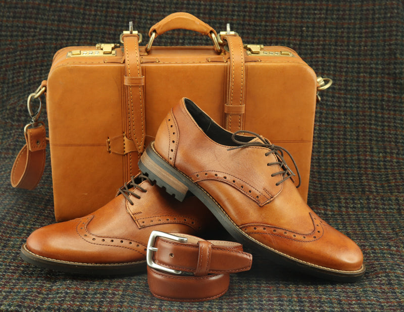 What Role Should Wingtip Shoes Have in the Male Wardrobe?
