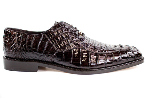 Belvedere Chapo Brown Crocodile Shoe