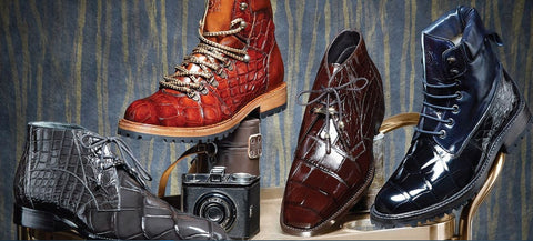 Belvedere Shoes' signature boots