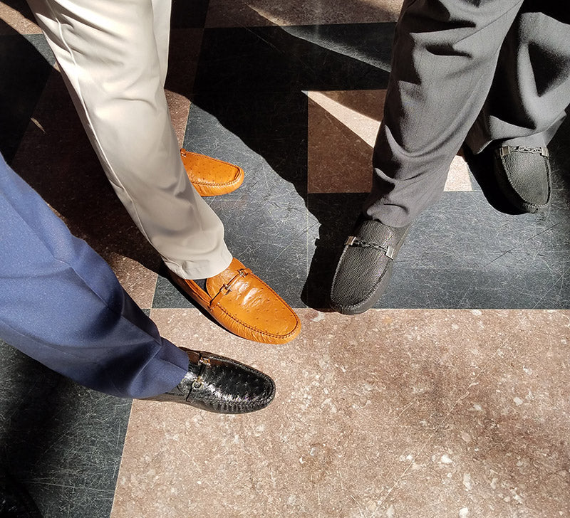 Belvedere's Driver Style Loafers