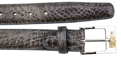 Alligator Belt- Gray