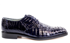 Chapo, in Navy Hornback Crocodile Dress Shoes Style: 1465