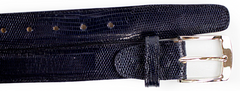 Lizard Belt- Navy