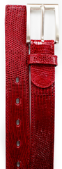 Lizard Belt- Red