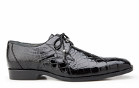 Lago, Plain-toed Derby Dress Shoes, Genuine American Alligator Style: 14010