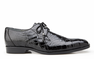 Lago, Plain-toed Derby Dress Shoes, Alligator Style: 14010