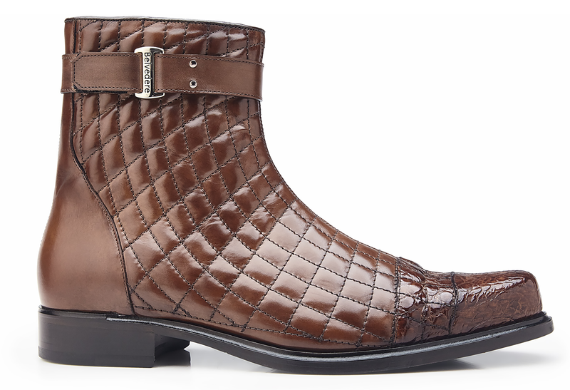 Libero, Quilted Leather and Caiman Boots Style: 819