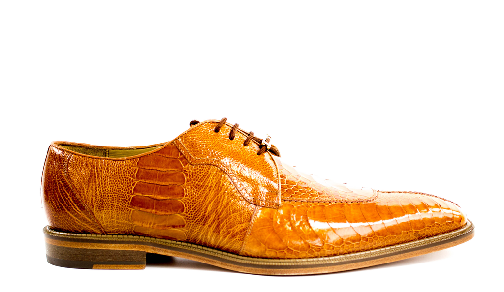 Siena, Genuine Ostrich Dress Shoes, Style: 1463