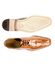 Siena in Burned Amber, Genuine Ostrich Dress Shoes, Style: 1463