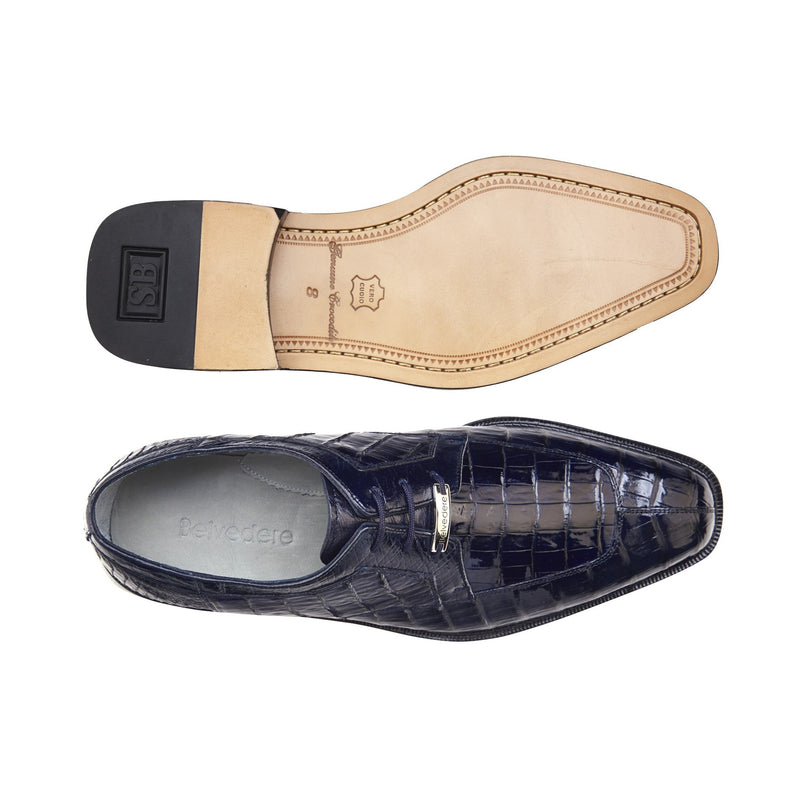 Susa, Genuine Caiman Dress Shoes, Style: P32