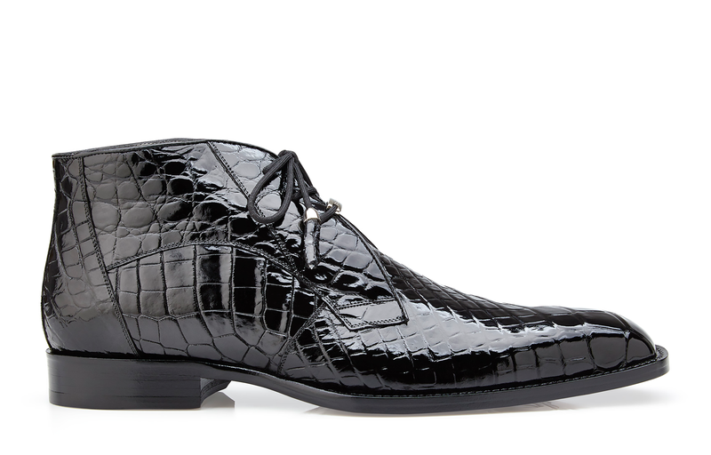 Stefano,  Alligator Ankle Boots Style: R17
