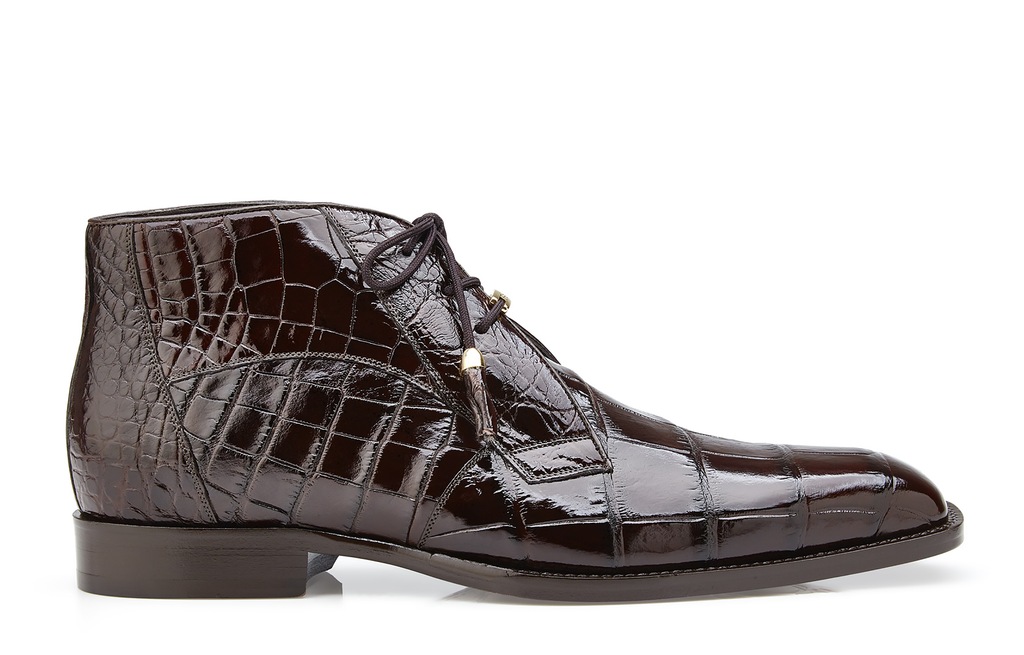Belvedere Shoes, Genuine Exotic Leather