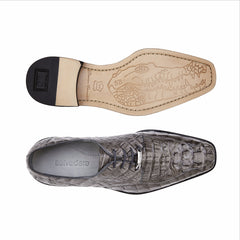 Chapo, in Gray Hornback Crocodile Dress Shoes Style: 1465