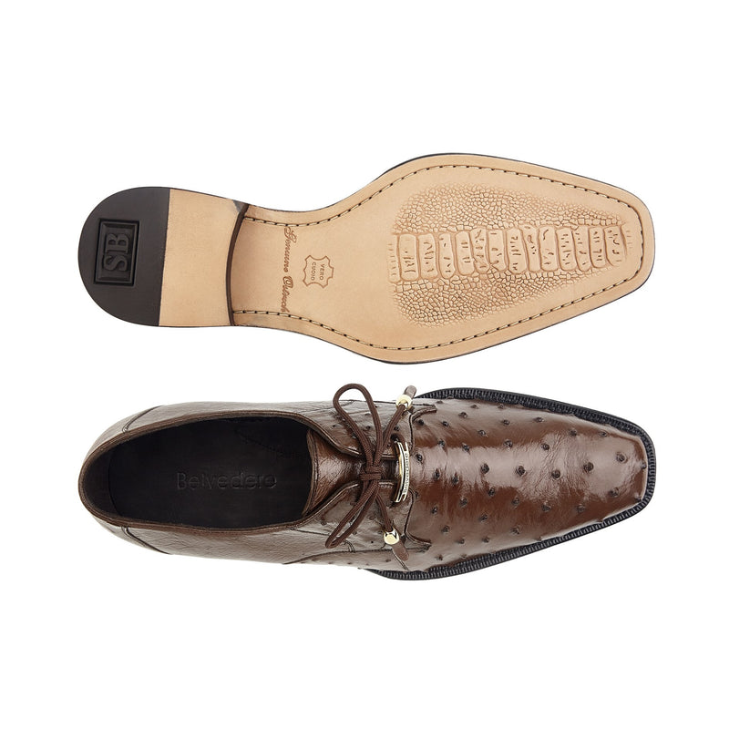 Isola, Ostrich, Classic Dress Shoes, Style: 14001
