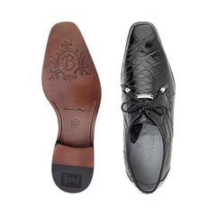 Lago, Plain-toed Derby Dress Shoes, Alligator, Style: 14010