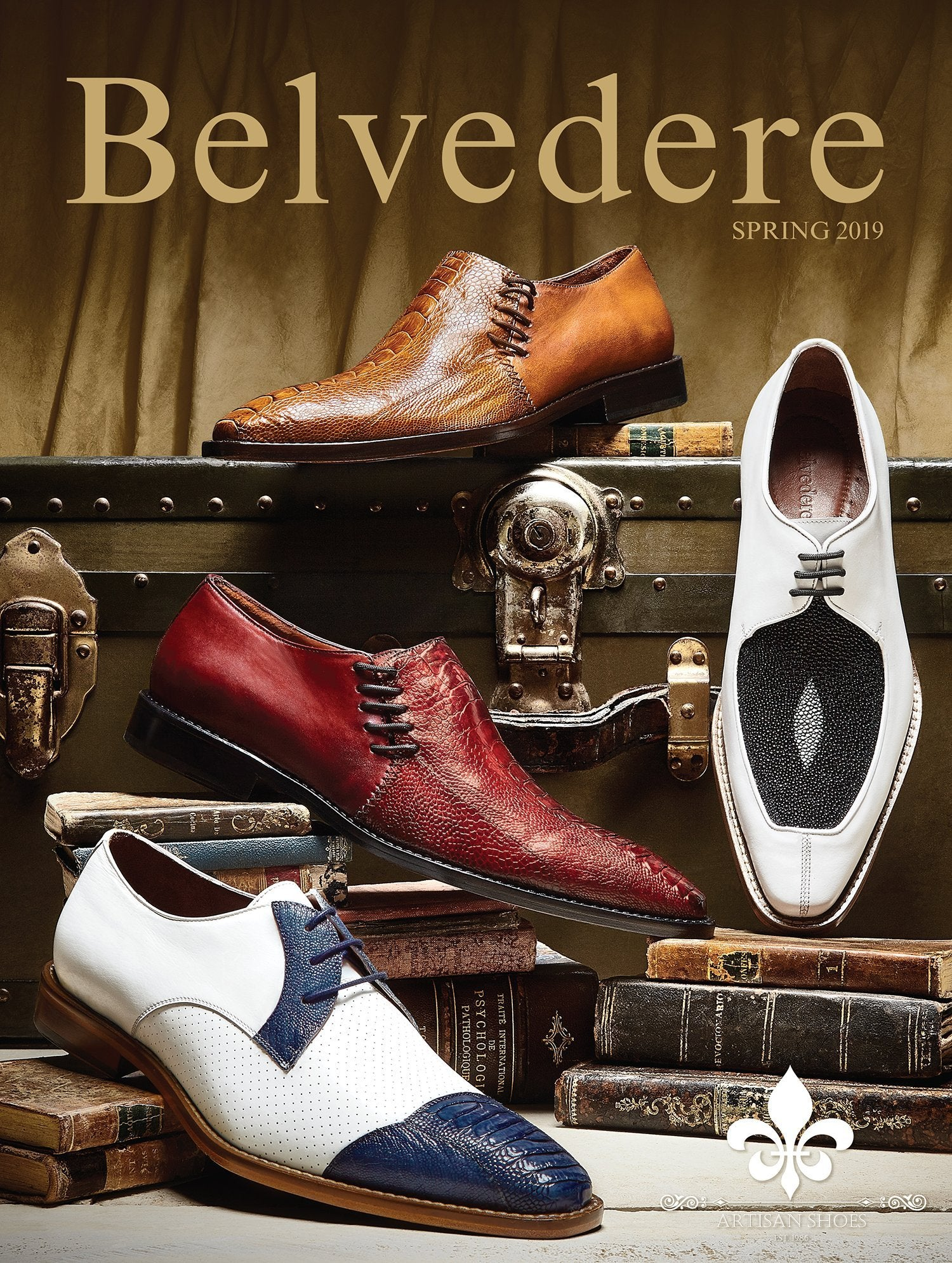 Belvedere Shoes New Fall Collection 2018