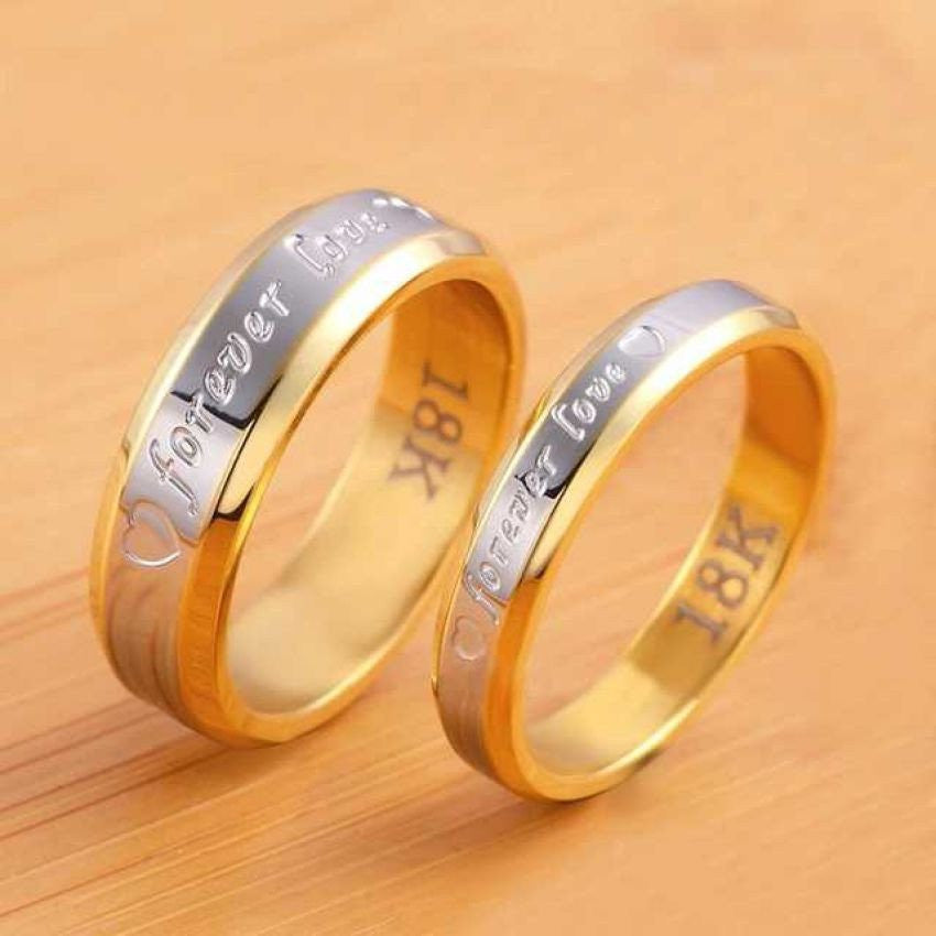 for wedding and heart silver sterling jewelry matching love couple band promise or p endless in engraved men set couples women his black domed open rings hers ring
