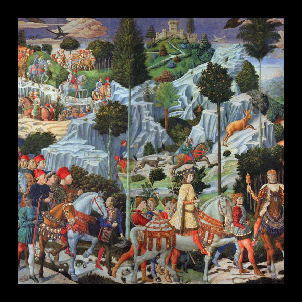 Procession of the Magi<br> (148mm x 148mm) <br> Prestige Range <BR> Ref K8b39