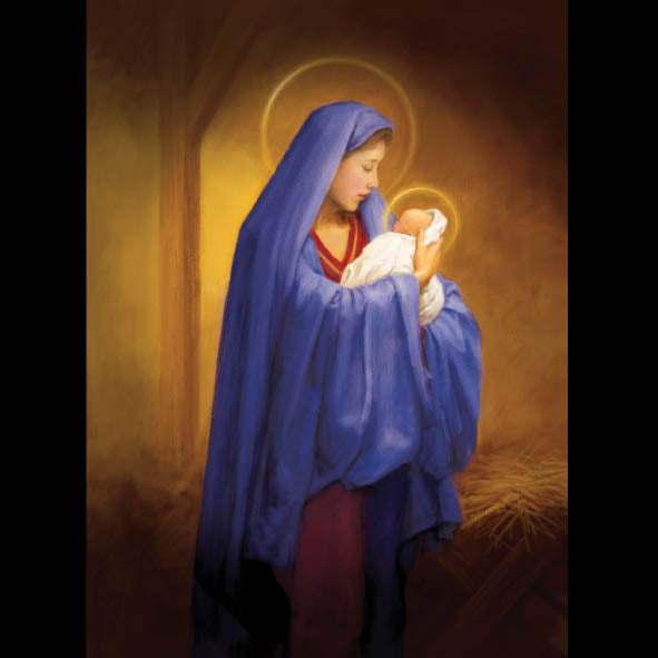 Madonna and Child<br> (148mm x 210mm) <br> Prestige Range <BR> Ref K8b10