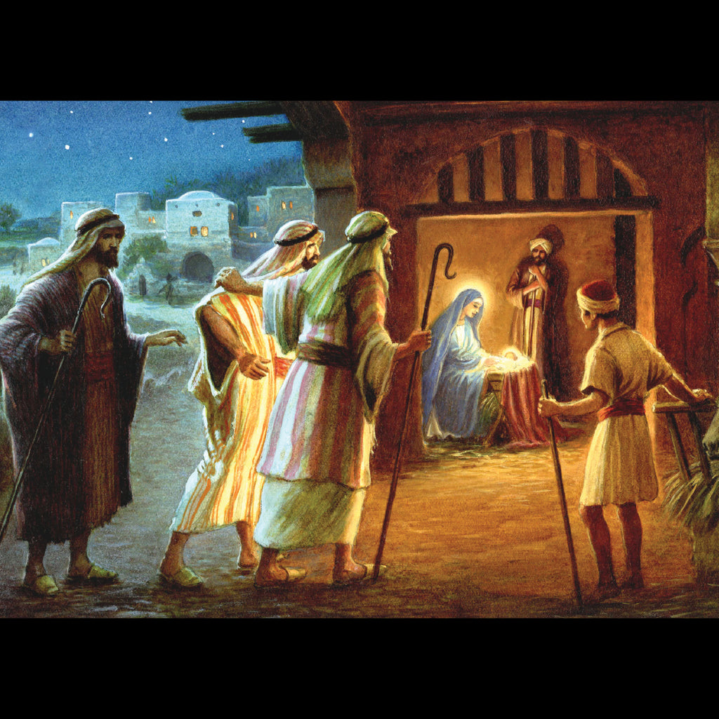 The Arrival of the Shepherds