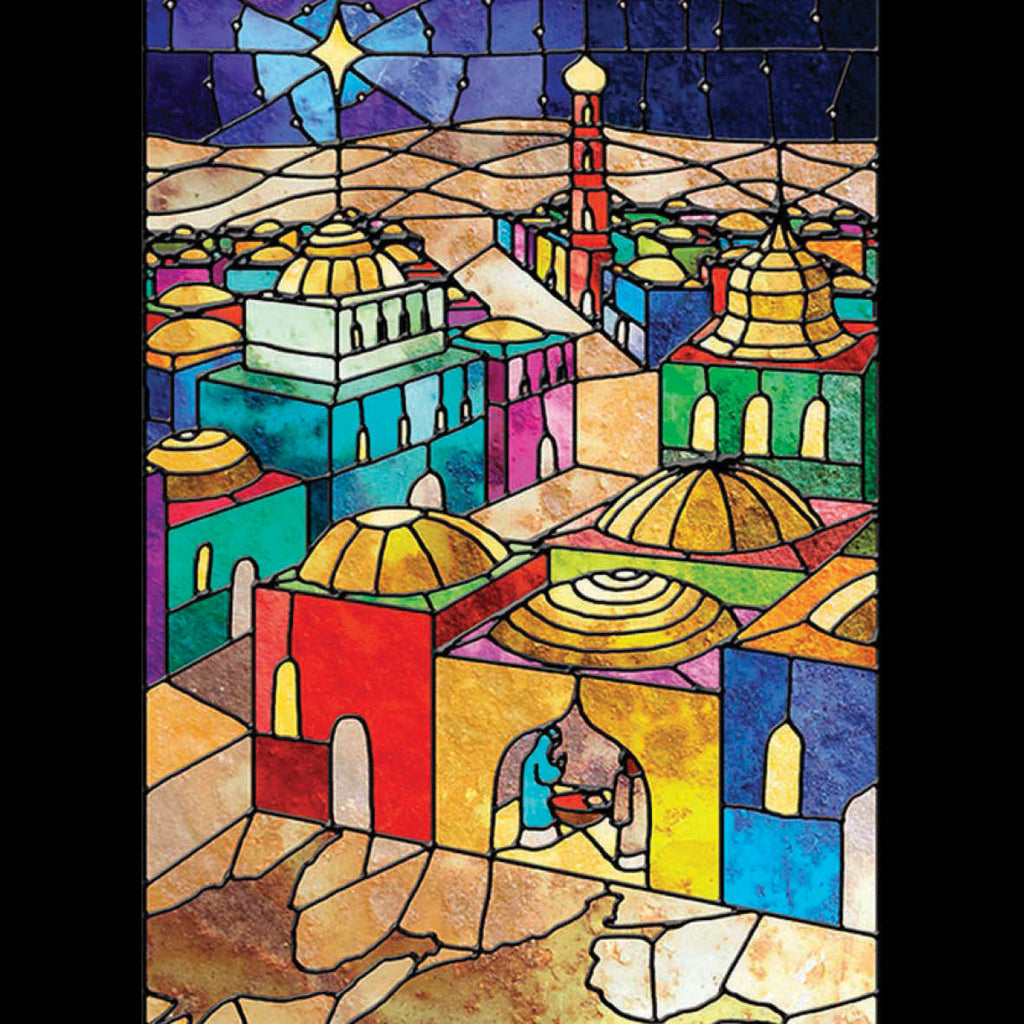 Bethlehem Evening<br> (116 x 160mm) <br> Value range <BR> Ref KQ30e