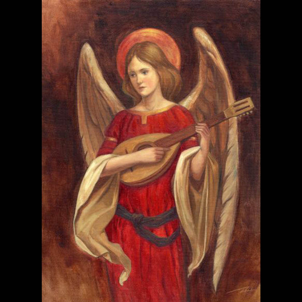 Musical Angel<br> (148mm x 210mm) <br> Prestige Range <BR> Ref K8b12