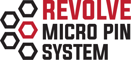 Revolve Micro Pin System on the Custom Bow Equipment Engage Series of Bow Hunting Sights