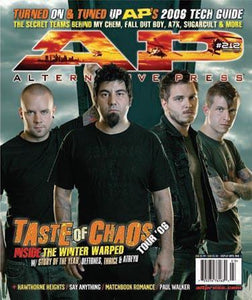 Taste Of Chaos 2006 on Alternative Press Magazine Issue 212