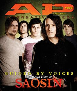 Saosin on Alternative Press Magazine Issue 226 Version 2
