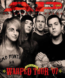 Warped Tour 2007 on Alternative Press Magazine Issue 229 Version 3