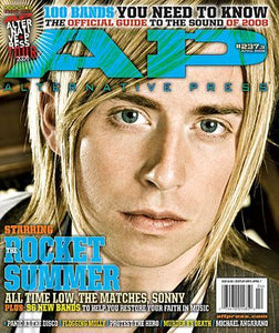 The Rocket Summer on Alternative Press Magazine Issue 237 Version 3