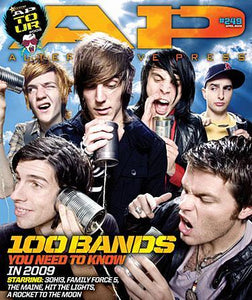 AP Tour 2009 on Alternative Press Magazine Issue 249 Version 4