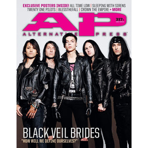 [317.1] Black Veil Brides Magazines Alternative Press