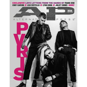 PVRIS on Alternative Press Magazine Issue 332 Version 1