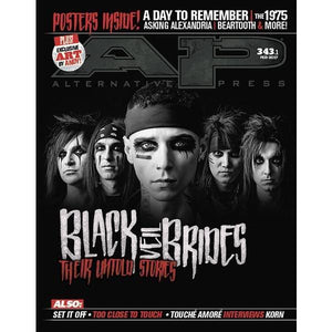 Black Veil Brides on Alternative Press Magazine Issue 343 Version 1
