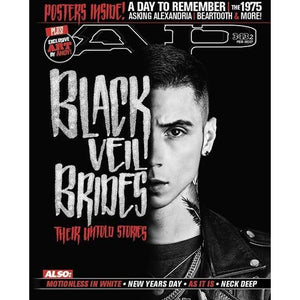 Black Veil Brides on Alternative Press Magazine Issue 343 Version 2