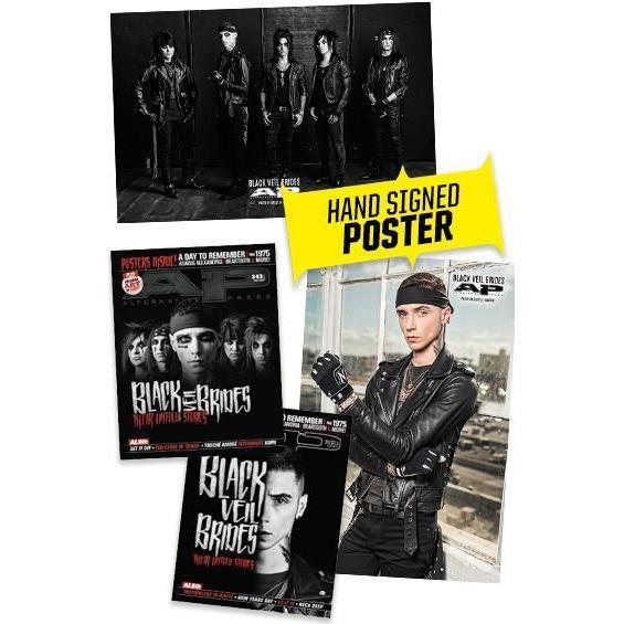 Black Veil Brides Signed Poster Bundle