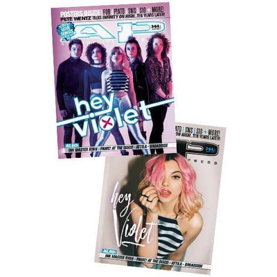 Alternative Press Cover Bundle Hey Violet Magazine Collection